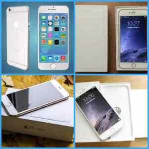 NEW UNLOCKED IPHONE 5C/MINT IN BOX 5S TELUS-WARNTY/IPHONE6 ROGER