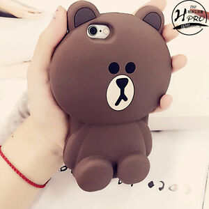 Brown Bear Line iPhone5s case