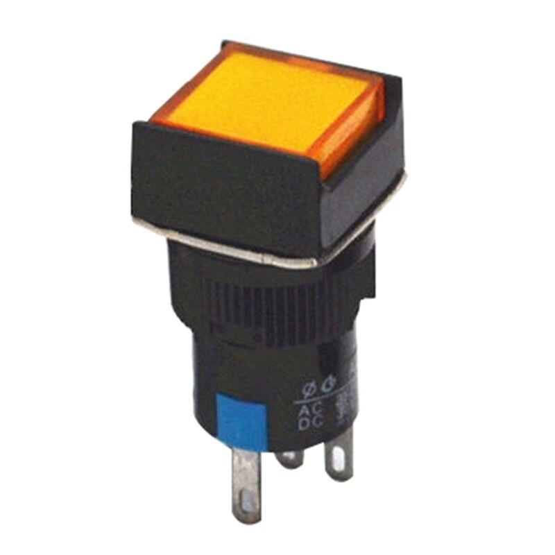 Drucktaster Druckschalter Druckknopf LED Taster Self-Zurücksetzen//Sperren ape