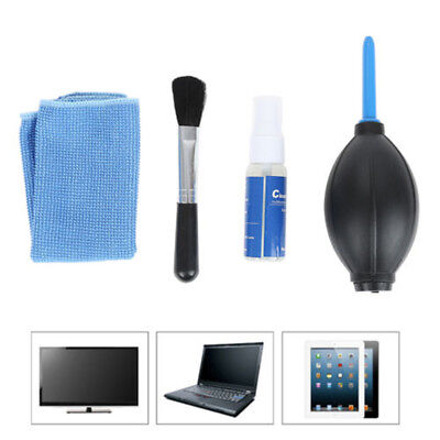 4 in 1 Screen Cleaning Kit For LCD TV LED PC Monitor Laptop Tablet Lens Cleaner