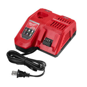 New! Milwaukee M18™& M12™ Multi-Voltage Rapid Charger 48-59-1808