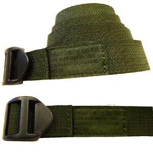 Utility Strap PLCE Self Locking Olive Strap IRR Treated plastic buckle ~ New