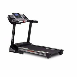 NEW BODYWORX SEATTLE L1 TREADMILL, 2.5CHP, 51cm Wide, Shock Abs Malaga Swan Area Preview