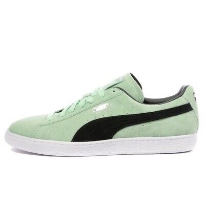 Men's Puma Suede Classic + Patina Green Suede Fashion Retro Trainers UK 6.5 - 10