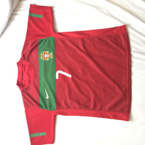 Soccer Jersey: Portugal Home 2010 World Cup, C. Ronaldo Jersey