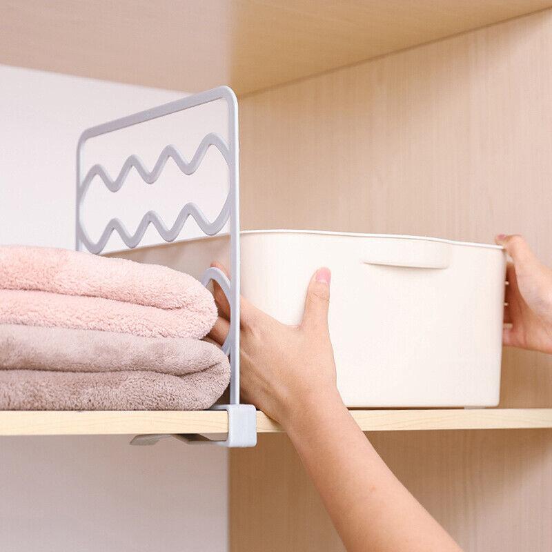 Closet Shelf Dividers Wardrobe Partition Shelves Divider Clo