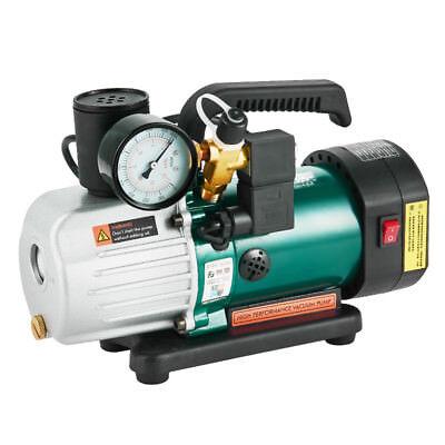 220v Single Stage Rotary Vane Vacuum Pump Pcv-4m Mini Vacuum Pump 15hp 3.6cfm