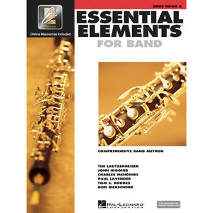 Essential Elements for Band 2000: Oboe Book 2