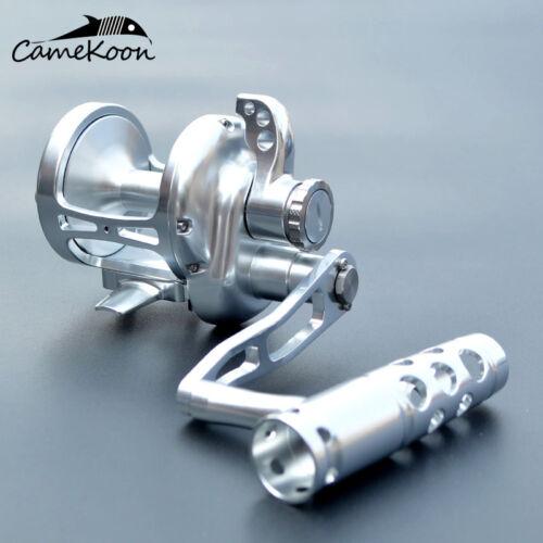 CAMEKOON Conventional Lever Drag Saltwater Fishing Reel Full Metal Jigging Reel