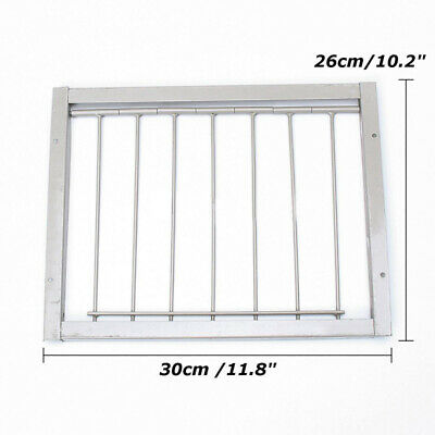 Wires Bars Frame Racing Pigeon Entrance Trapping Door Loft Bird 30*26cm 1 X