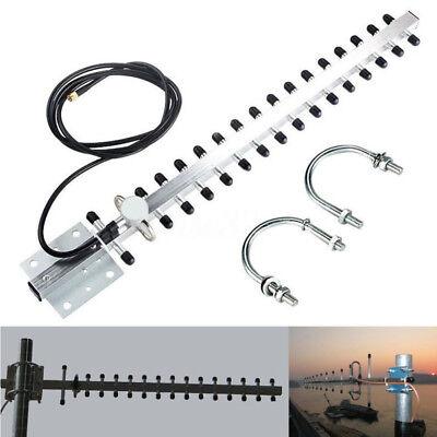 RP-SMA 2,4 GHz 25dBi Directional Outdoor Wireless Yagi Antenne WiFi Für  GIE Wifi Yagi-antenne