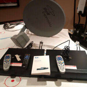 Bell Satellite Dish/Mount and Two Bell PVR's (Model 9241)