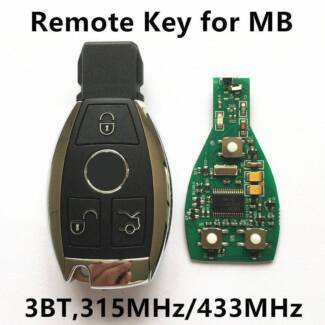 Mercedes Benz Key and Remote Cut And Program,All keys lost