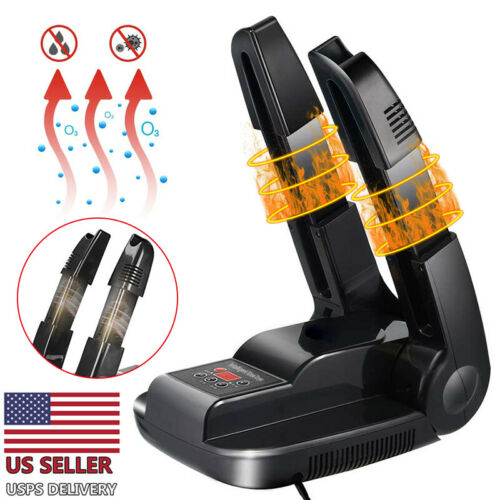 как выглядит Electric Portable Boot Dryer Folding Shoes Warmer Odor Remover With Timer USA фото