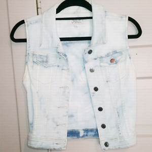 Bleached vest size small