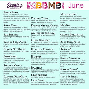 BBMB (Bring Back my Bar) at Scentsy!