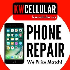 Cell Phone & Tablet Repairs - KW CELLULAR - 1500 Weber St E, Kitchener. WE PRICE MATCH!