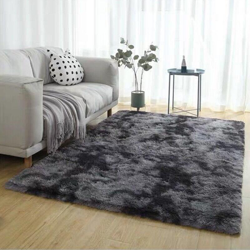 Shaggy Cosy Fluffy Rugs Floor Carpet Bedroom Living Room Mat Soft Area Rug Decor Area Rugs