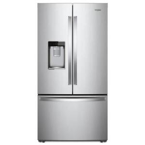 "Canada Fridges- Home Appliances|Whirlpool WRF954CIHM 36"" Inch French 3-Door Refrigerator (BD-928)"