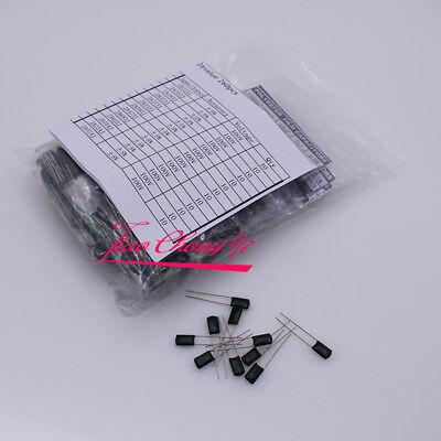 26 Value Dip Polyester Film Capacitor Kit 1nf -470nf 100v 260pcs