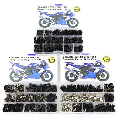 Yamaha YZF R125 2012 screen cowling fender fairing bolts /& rubber well nuts kit