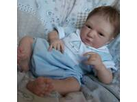 Reborn real born doll