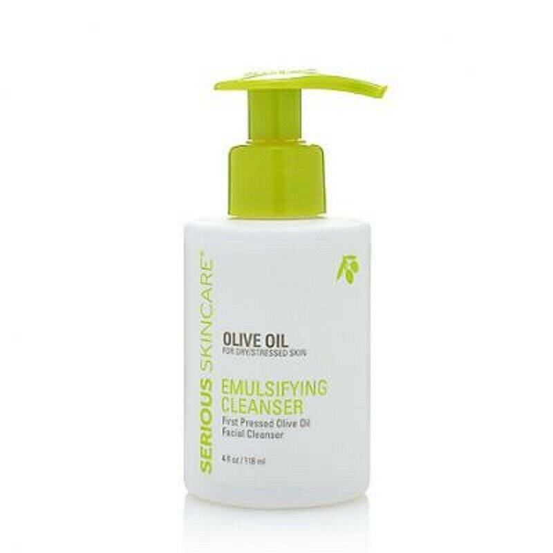 Serious Skincare Olive Oil Emulsifying Facial Cleanser 4 fl.