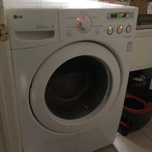 LG front loader Washer & GE front load dryer (electric)