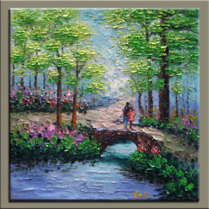 LA1-065, Brand New, Hand made (not printed) Oil painting