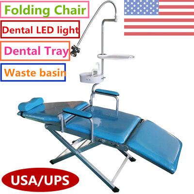 Dental Portable Folding Chair Led Surgical Light Lampwater System Supply Usa