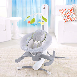Fisher price 4 in 1 connect cradle and swing