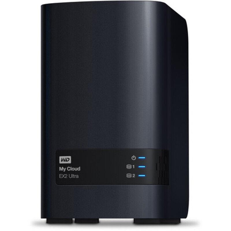 Wd Mc Ex2 Ultra 12tb Nas Server 2x6000gb Wd Ultrastar Dc Hc310 Drives