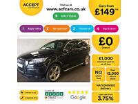 Audi Q7 S LINE FROM £149 PER WEEK!