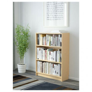 Billy bookcases with Oxberg Doors-Birch