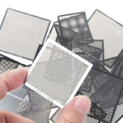 27pcsset Bga Reballing Universal Stencils With Template Jig For Smt Smd Chip