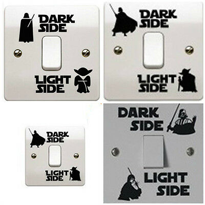 Star Wars Light Side Switch Decal Sticker Child Bedroom Room Home Decor Wall - Star Wars Bedroom Decorations