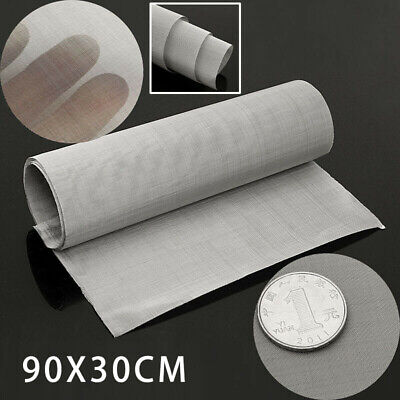100micron Mesh Stainless Steel Woven Wire Cloth Screen Filter Sheet 12 X 35