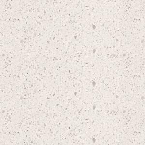 2100x600 quartz stone kitchen benchtop ice rock with 40mm mitre j Clayton Monash Area Preview