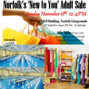 Nov 18th Norfolks New to You Adult Sale