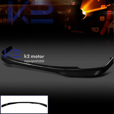 - For 1998-2000 Honda Accord 4Dr T-R ABS Front Bumper Lip Spoiler