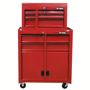 "Sealedbox 48""H 5-Drawer Combo Tool Chest /Tool Tower Ballbearin"