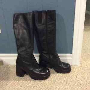 Aldo insulated leather boots