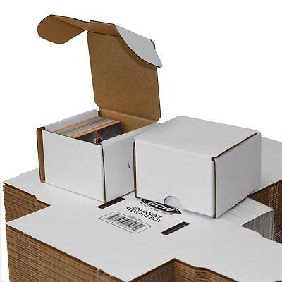 Lot Of 50 Small White Cardboard Shipping Boxes - 3 12 X 3 34 X 2 34