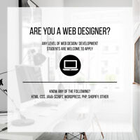 LOOKING FOR WEB DEVELOPER - BASIC SKILL LEVEL / STUDENTS WELCOME