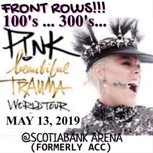 PINK @SCOTIABANK ARENA–AMAZING Sec118s +SUPER CHEAP OPTIONS!