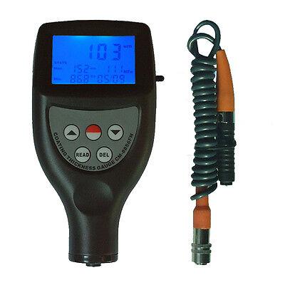 Cm-8856 Paint Meter Tester Coating Thickness Gauge Tester Range 01250-050mil