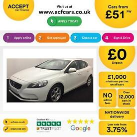 Volvo V40 1.6 D2 ( 115bhp ) ( s/s ) 2013MY ES FROM £51 PER WEEK!