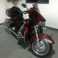 Harley Ultra Classic Sunglow Red