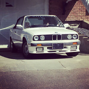 Super clean bmw e30 325i convertible