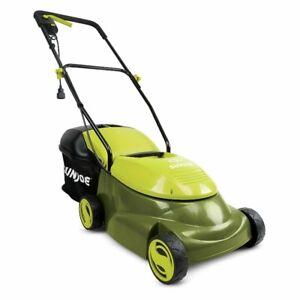 "SunJoe MJ401E 14"" 12Amp Electric Lawn Mower W/ Grass Bag"